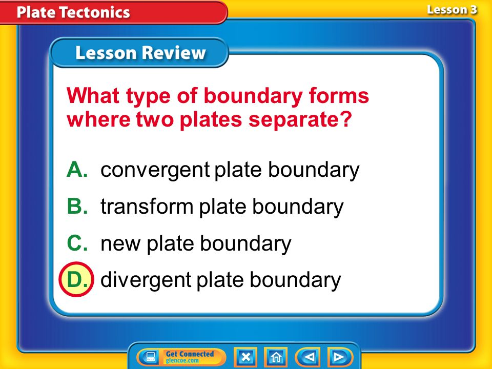 What type of boundary forms where two plates separate