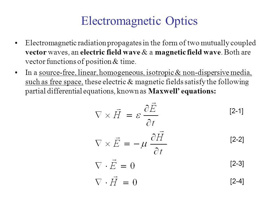 Electromagnetic Optics