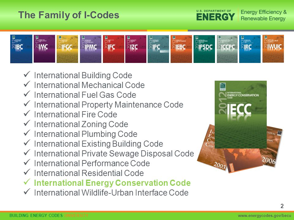 The Family of I-Codes International Building Code