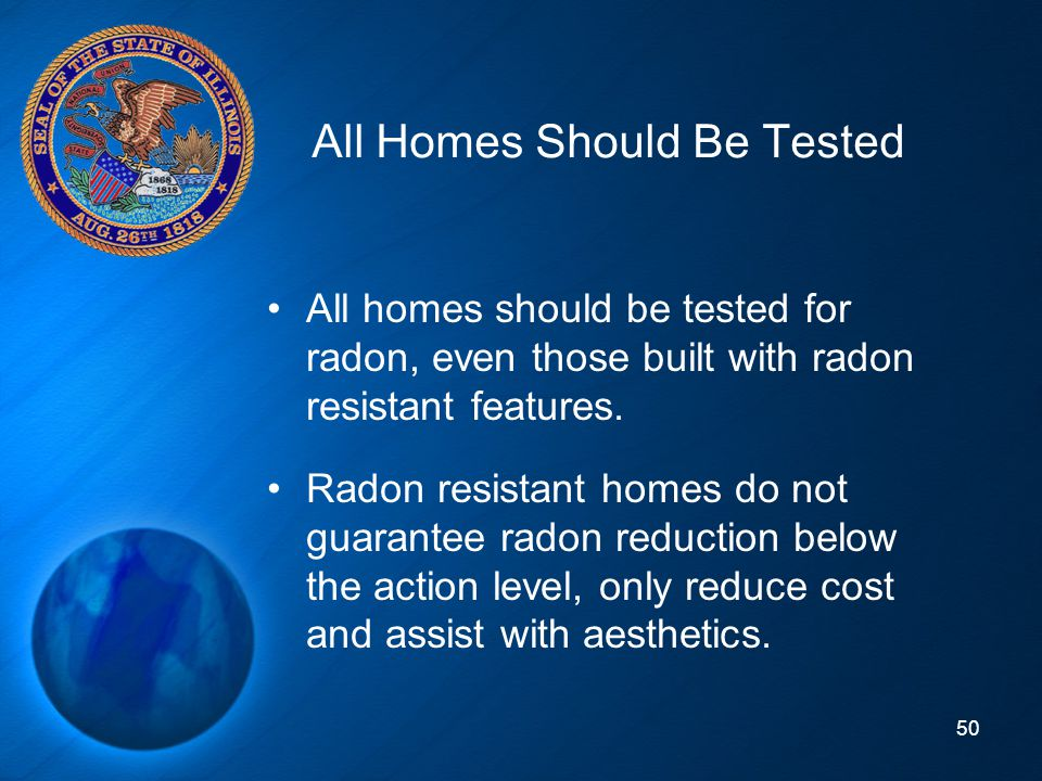 All Homes Should Be Tested