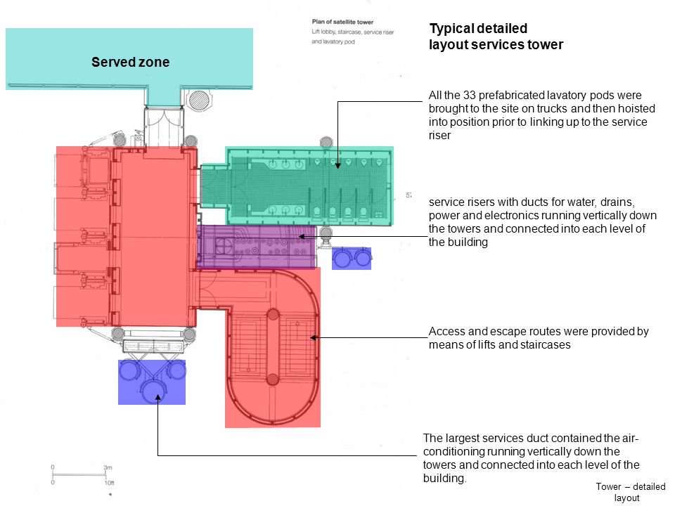 Tower – detailed layout