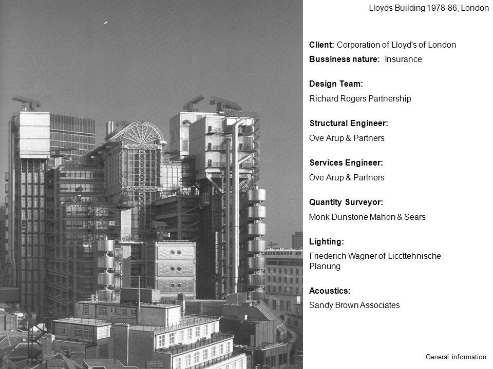 Lloyds Building 1978-86, London