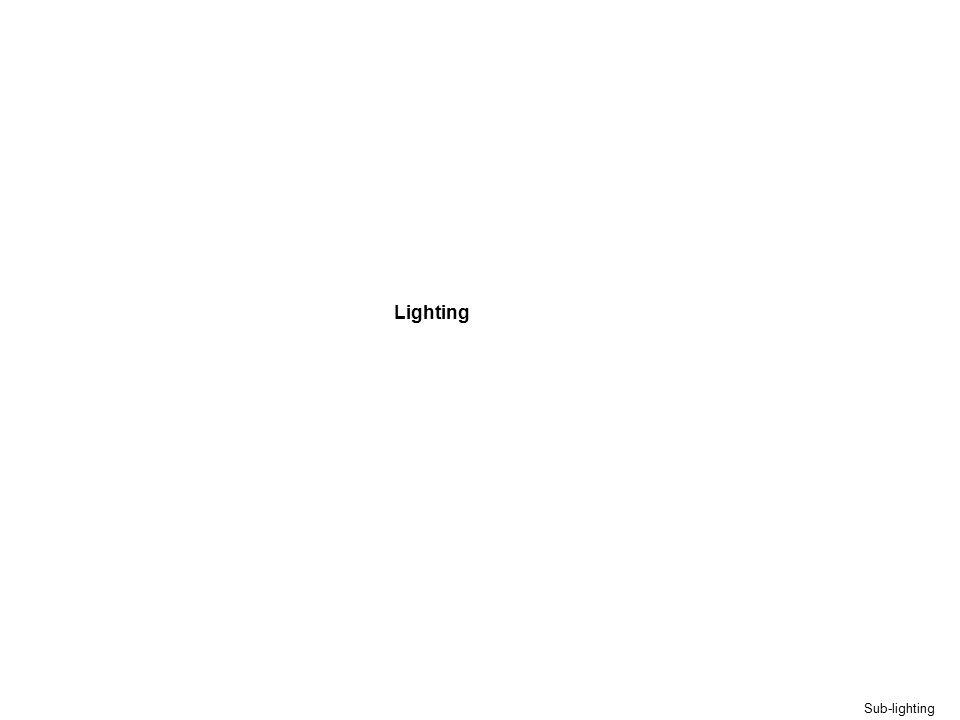 Lighting Sub-lighting