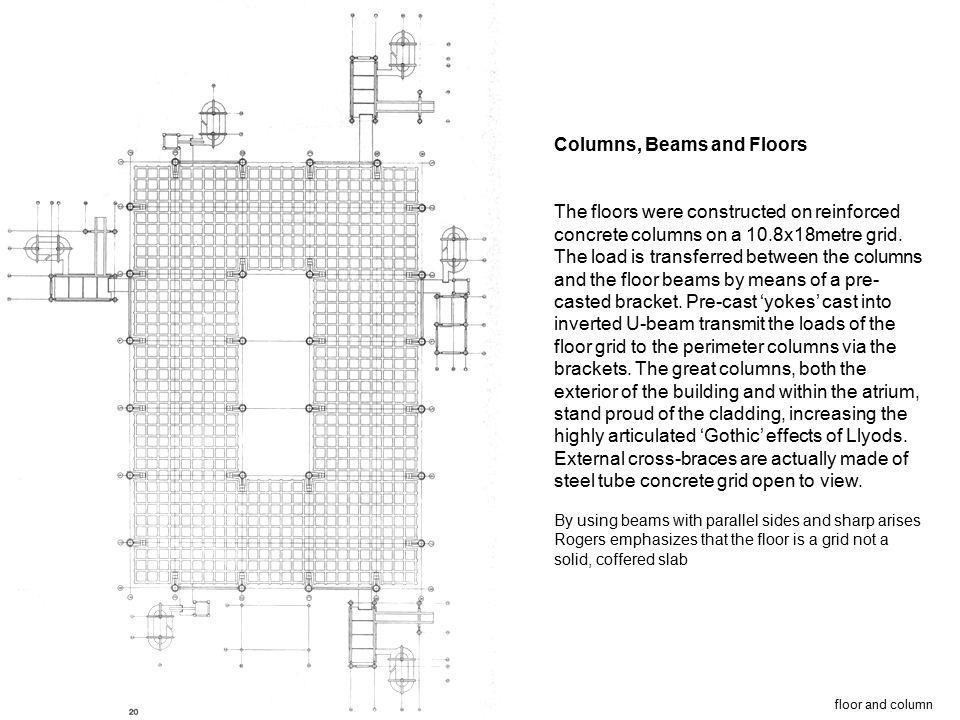 Columns, Beams and Floors
