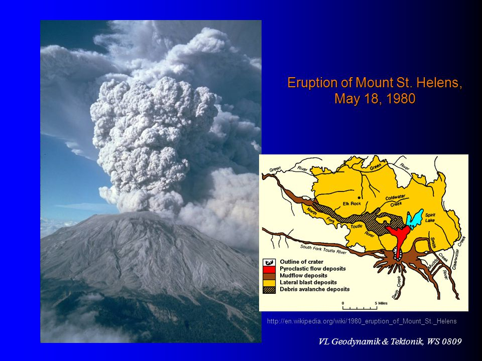 Eruption of Mount St. Helens, May 18, 1980