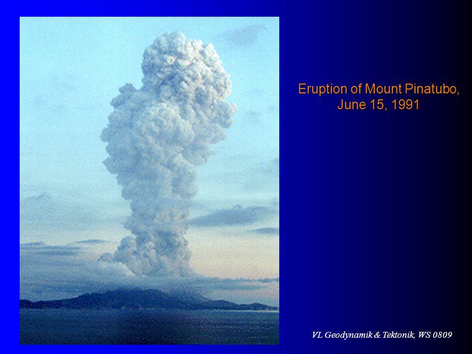 Eruption of Mount Pinatubo, June 15, 1991