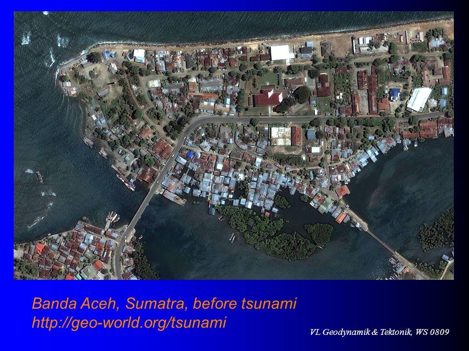Banda Aceh, Sumatra, before tsunami