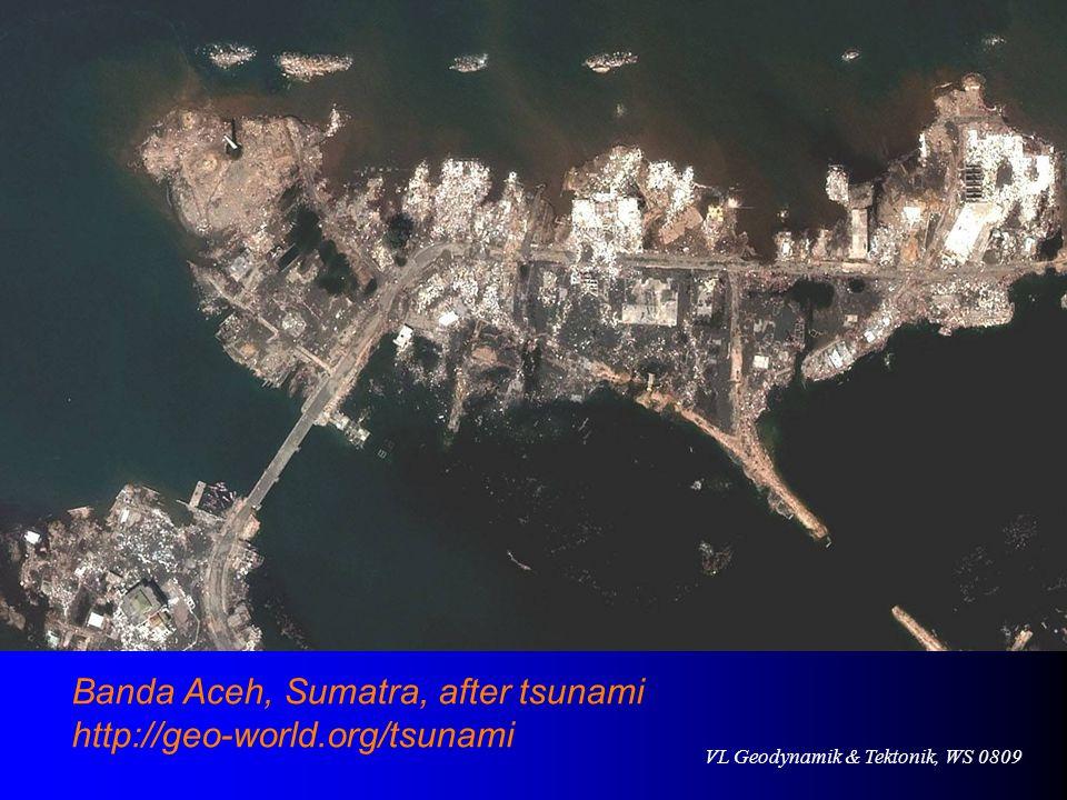 Banda Aceh, Sumatra, after tsunami