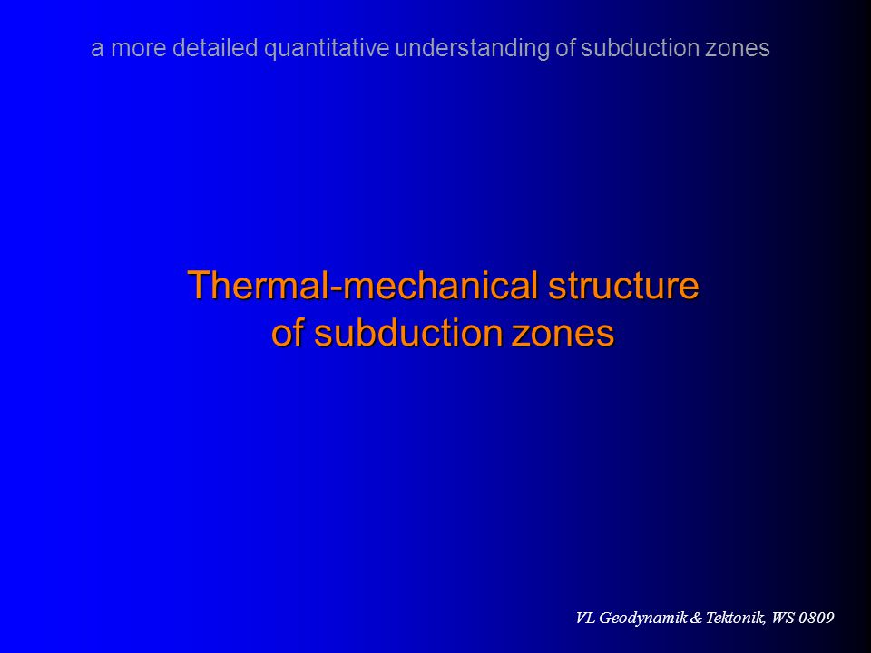 Thermal-mechanical structure
