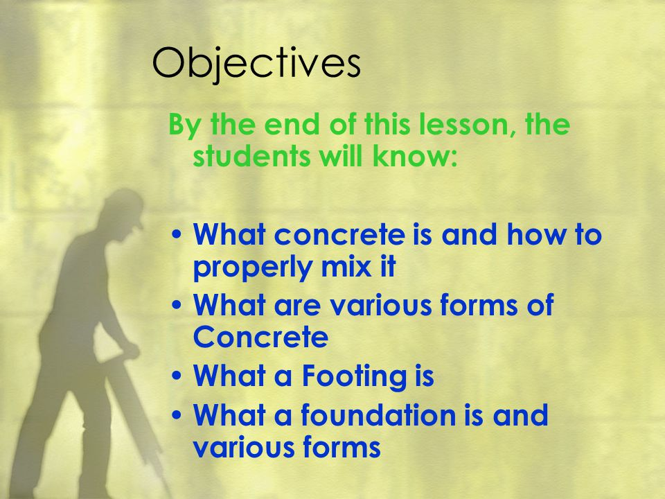 Objectives By the end of this lesson, the students will know: