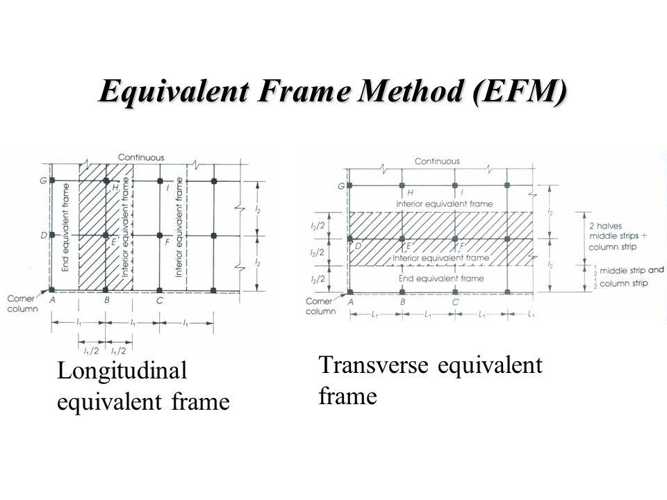 Equivalent Frame Method (EFM)