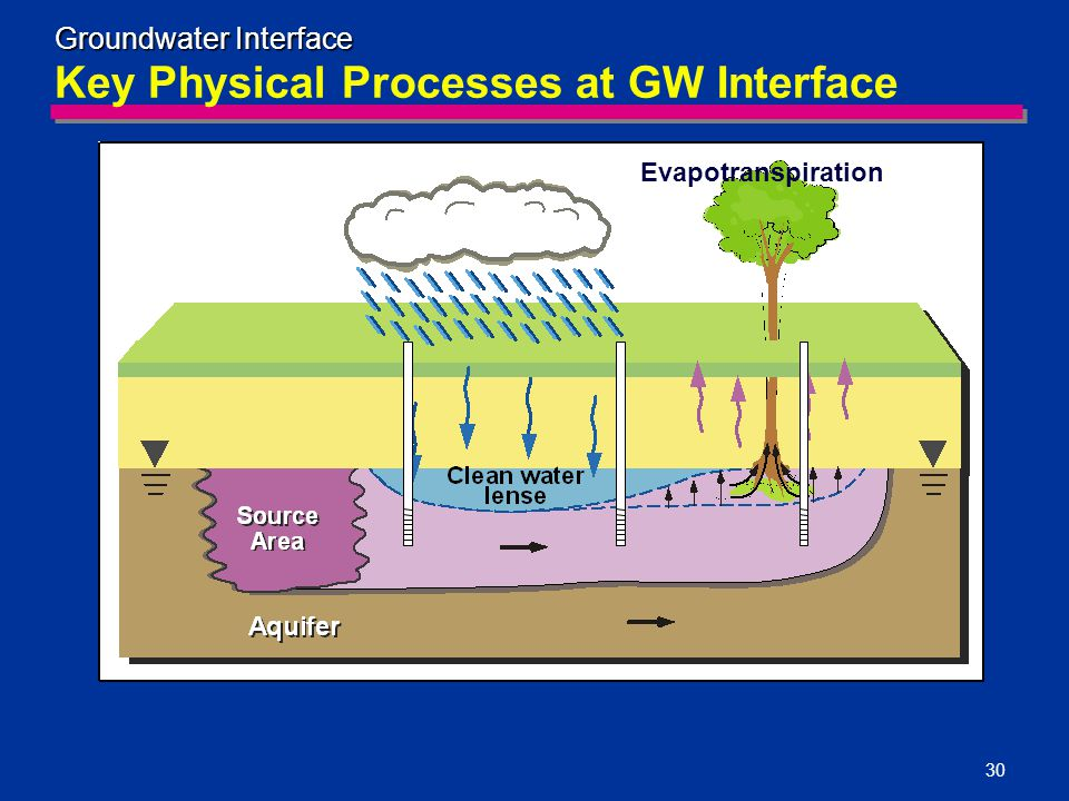 Key Physical Processes at GW Interface