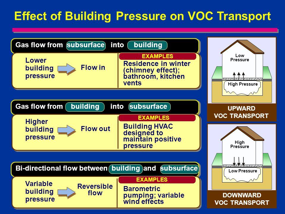 DOWNWARD VOC TRANSPORT