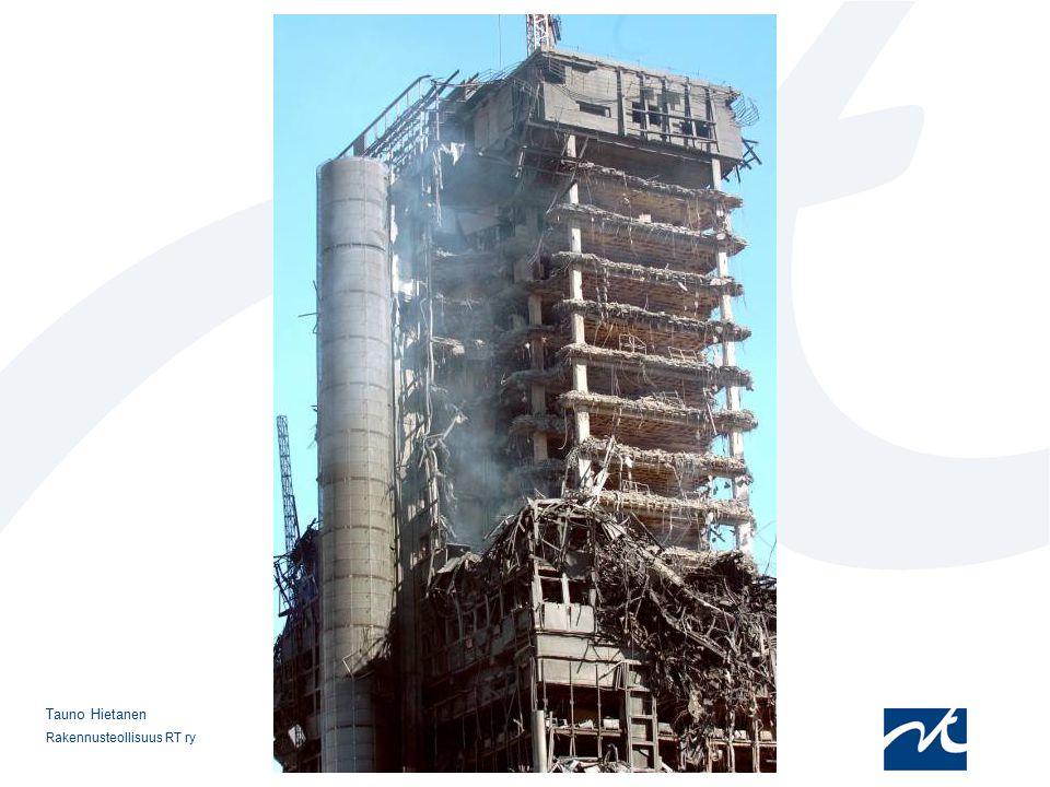 12.4.2017 Rakennus palon jo sammuttua. Sortuminen olisi vaarantanut ympäristön ja ilmeisesti sytyttänyt muita rakennuksia. Rakennus purettiin.