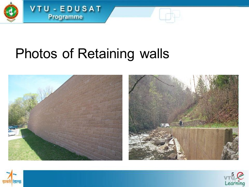 Photos of Retaining walls