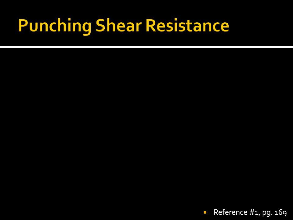 Punching Shear Resistance