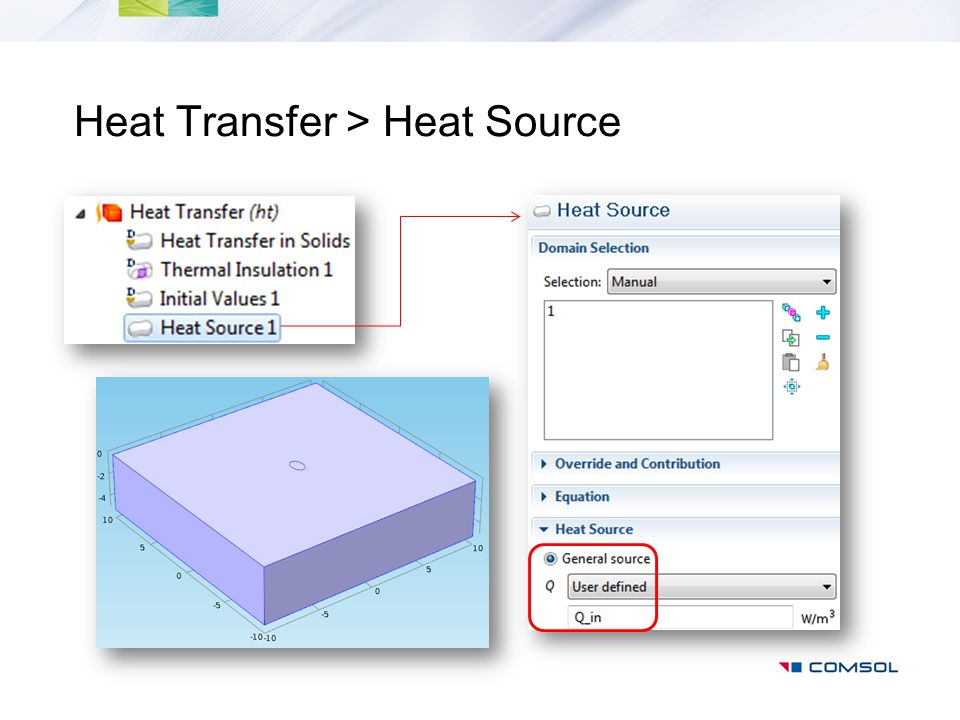 Heat Transfer > Heat Source
