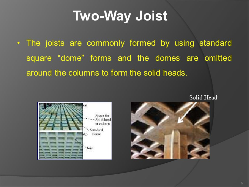 Two-Way Joist