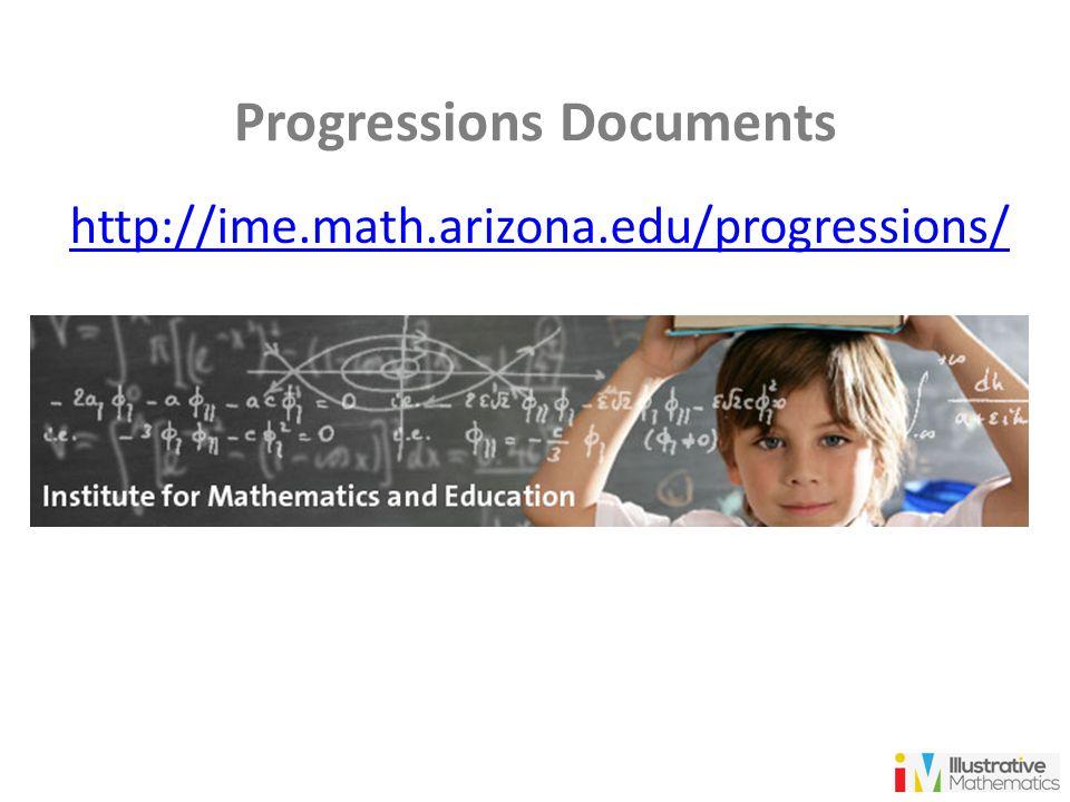 Progressions Documents