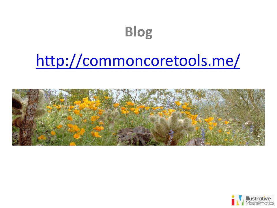 Blog http://commoncoretools.me/ 20