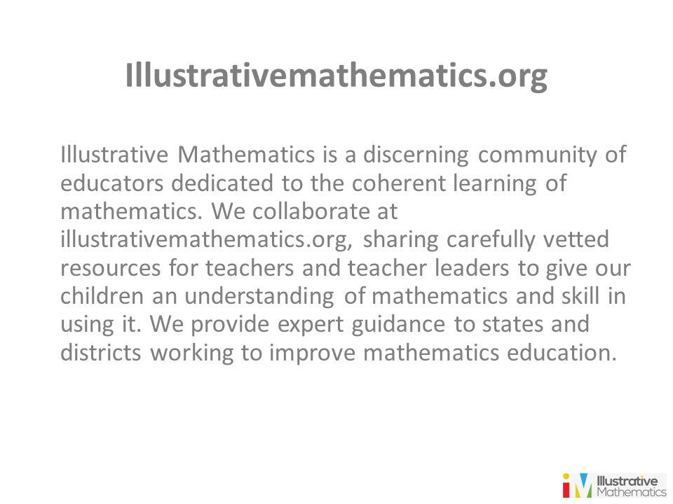 Illustrativemathematics.org