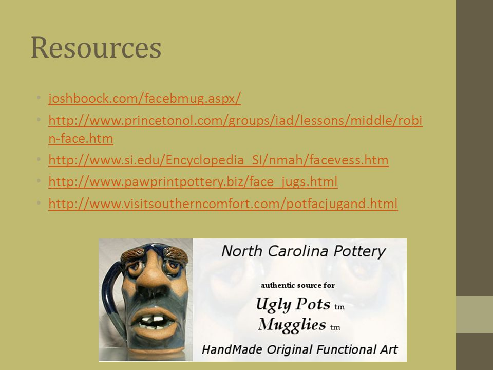 Resources joshboock.com/facebmug.aspx/