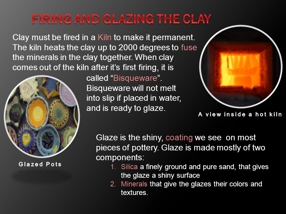 Firing and Glazing the Clay