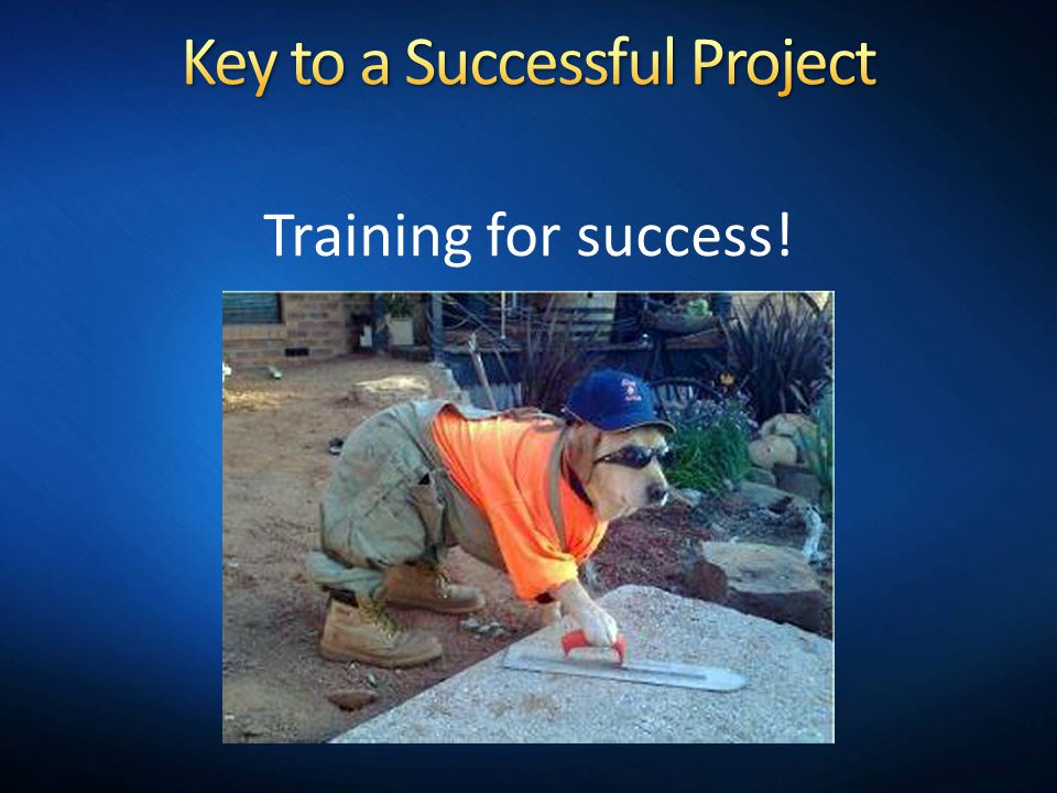 Key to a Successful Project
