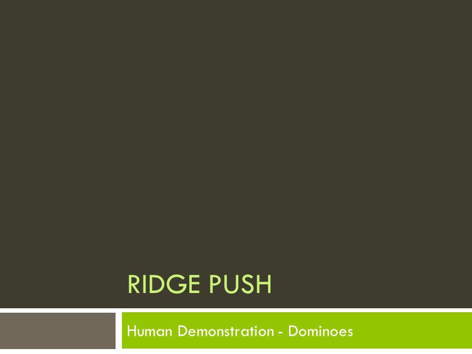 Human Demonstration - Dominoes