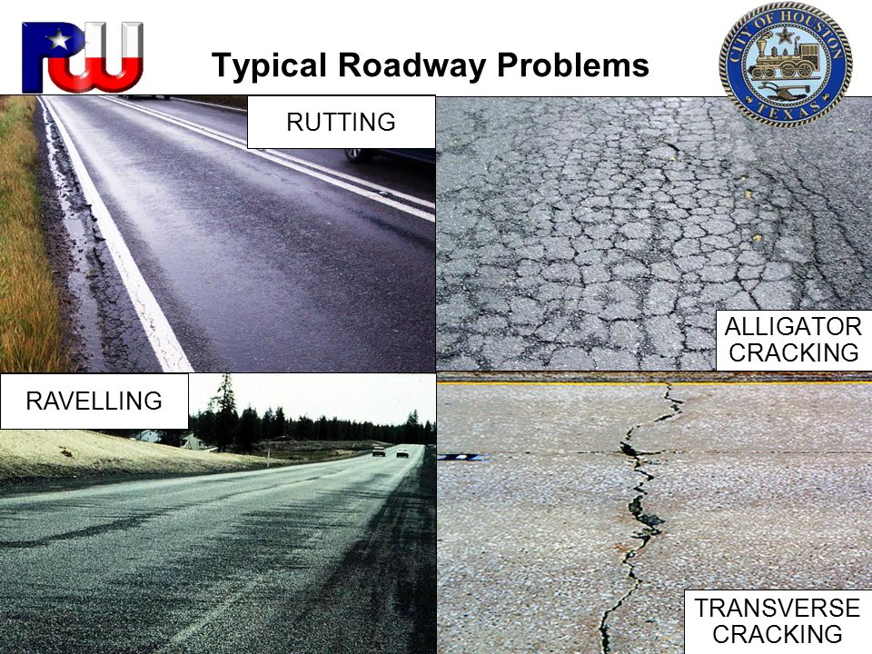 Typical Roadway Problems