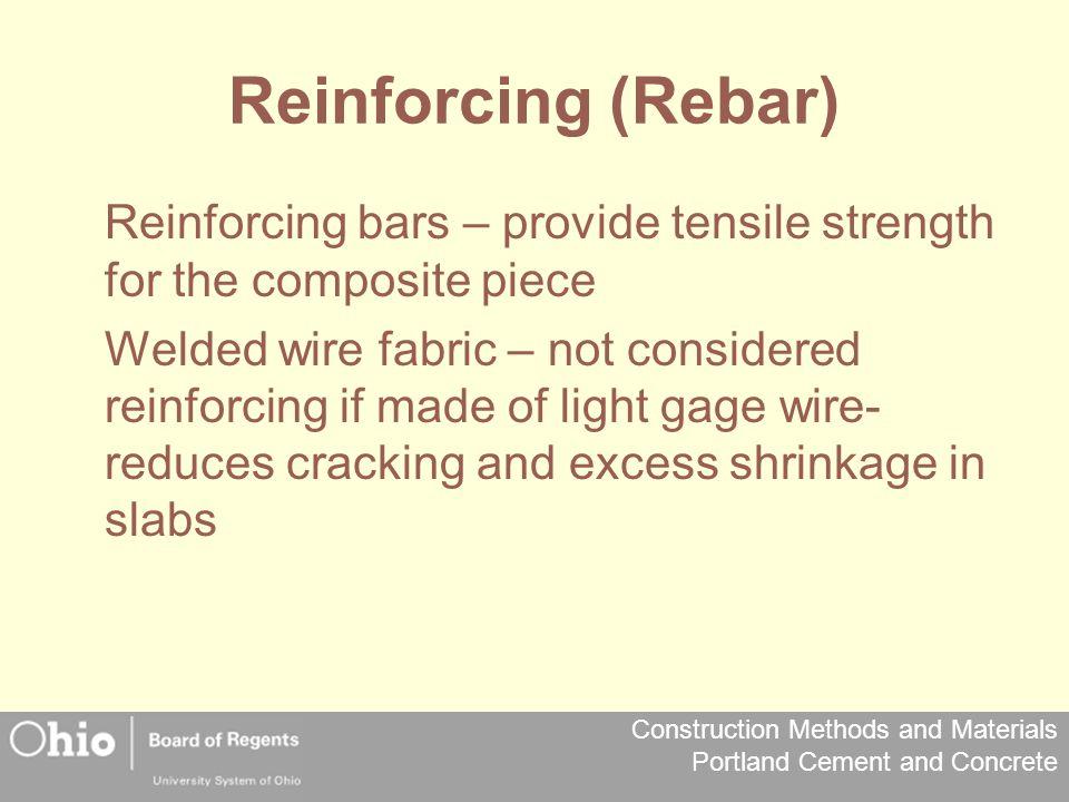 Reinforcing (Rebar)