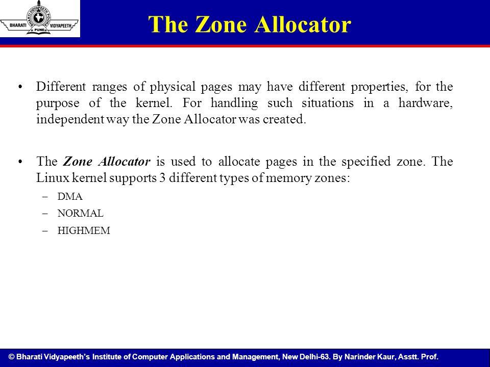 The Zone Allocator