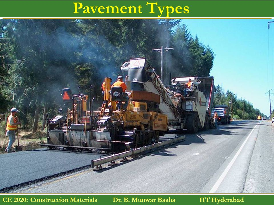 Pavement Types