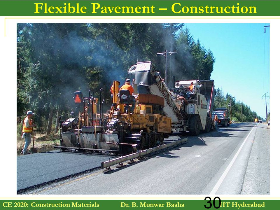 Flexible Pavement – Construction
