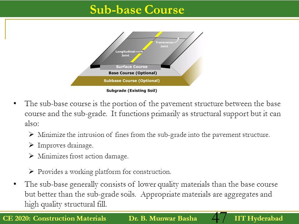 Sub-base Course