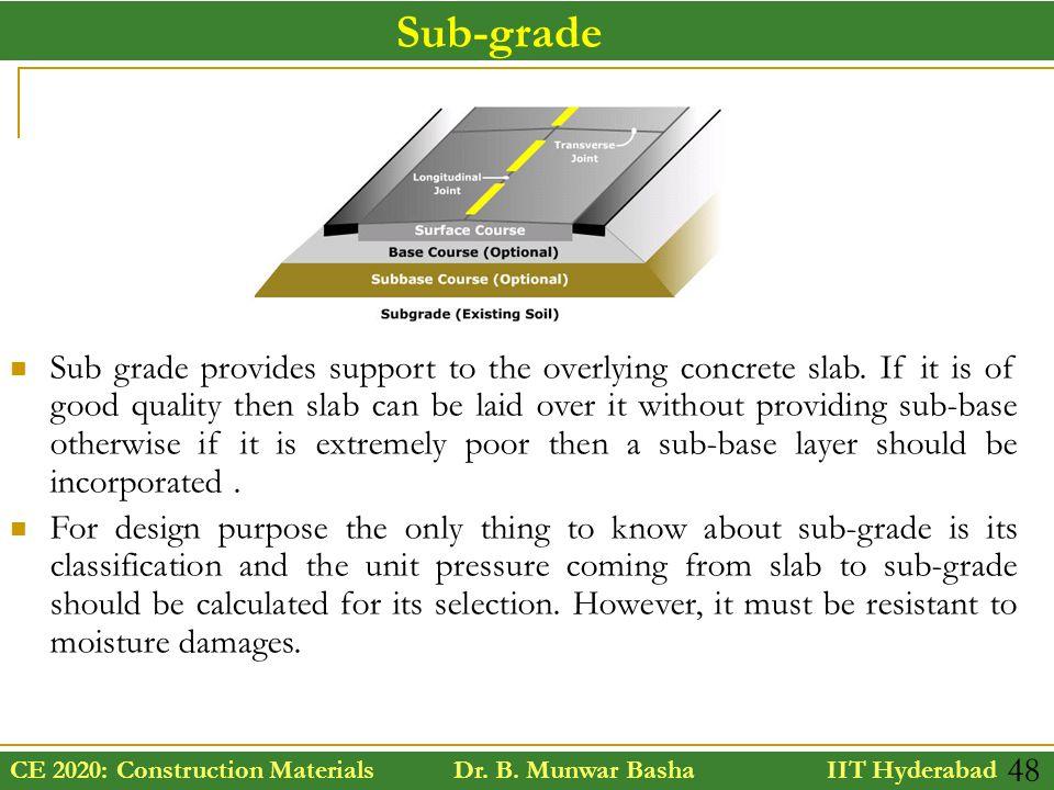 Sub-grade