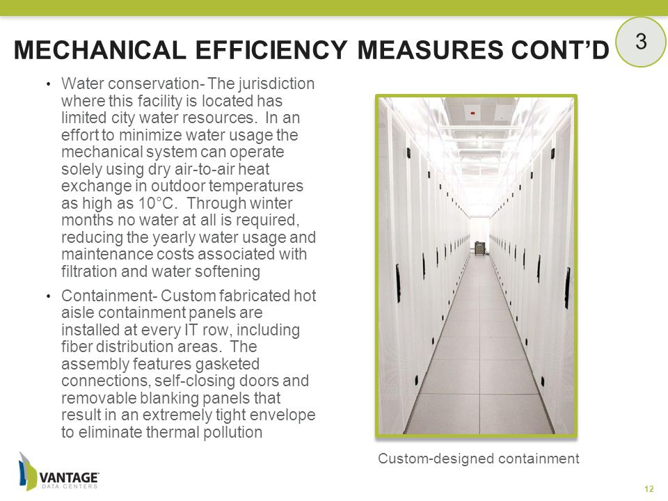 Mechanical Efficiency Measures Cont'd