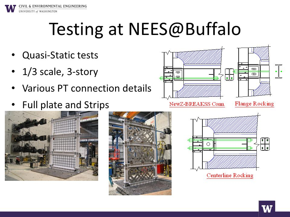 Testing at NEES@Buffalo