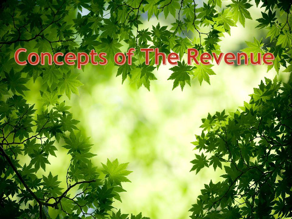Concepts of The Revenue