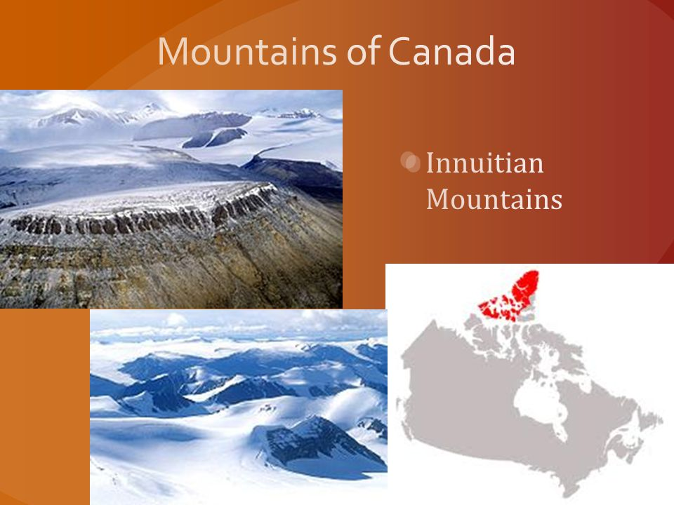 Mountains of Canada Innuitian Mountains