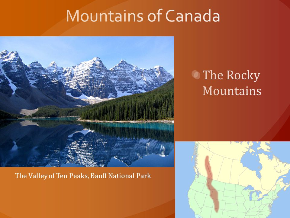 Mountains of Canada The Rocky Mountains