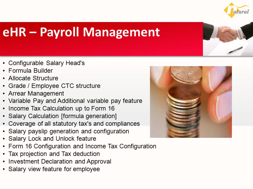 eHR – Payroll Management