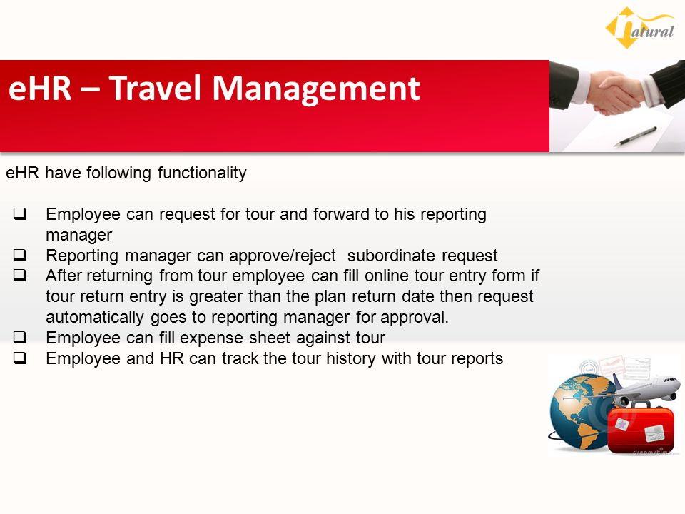 eHR – Travel Management