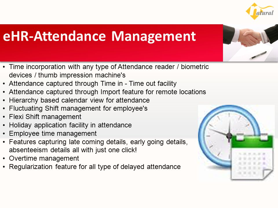 eHR-Attendance Management