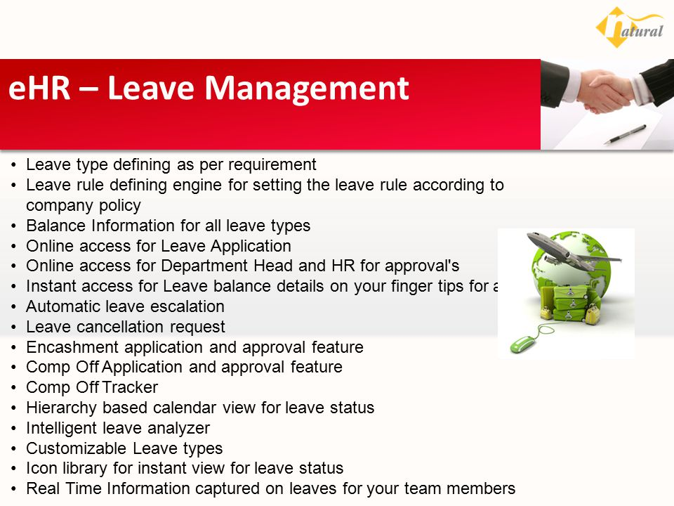 eHR – Leave Management Leave type defining as per requirement