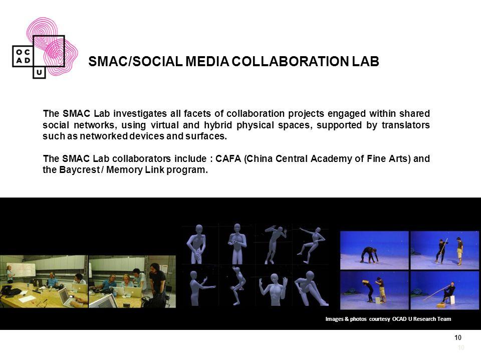 SMAC/SOCIAL MEDIA COLLABORATION LAB