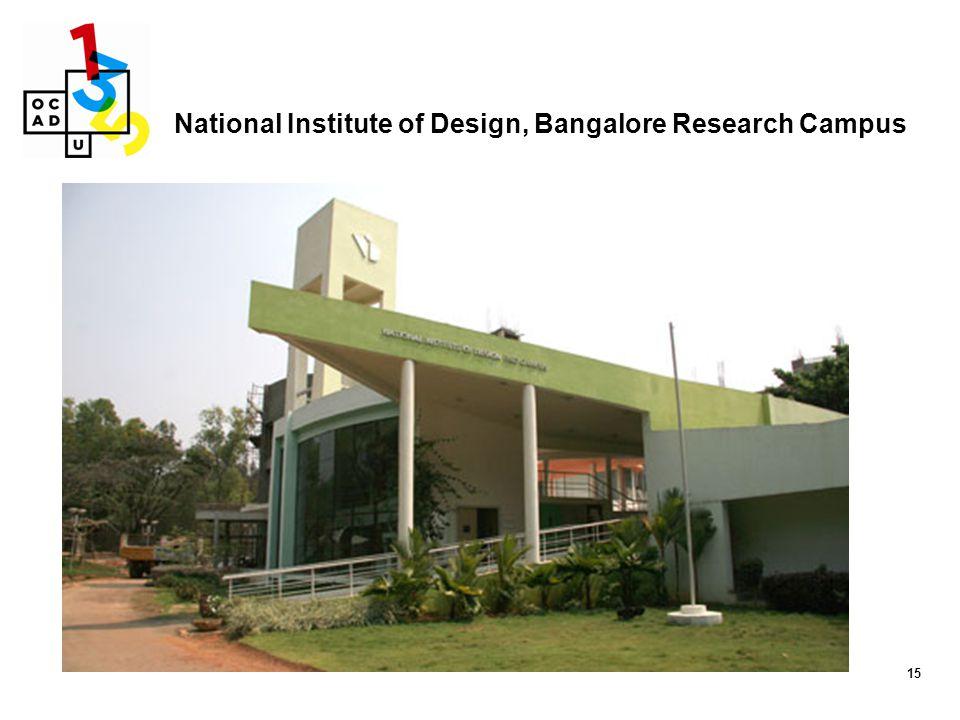 National Institute of Design, Bangalore Research Campus
