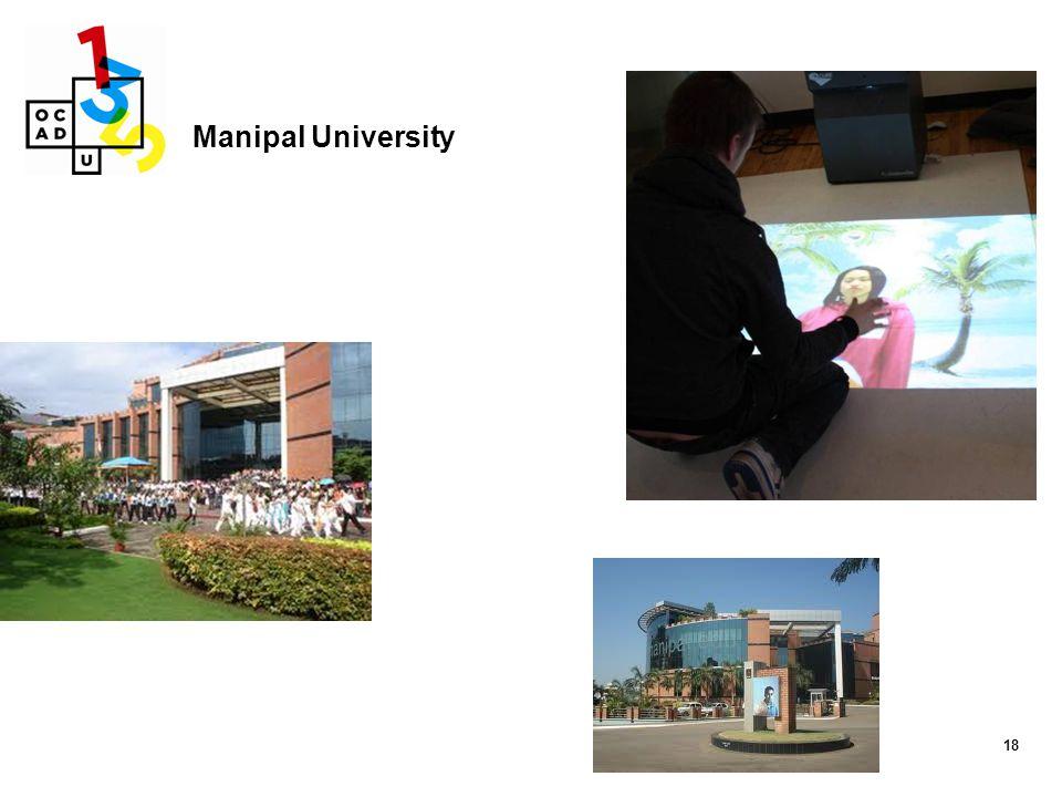 Manipal University 18 18 D. Manipal University (www.manipal.edu)