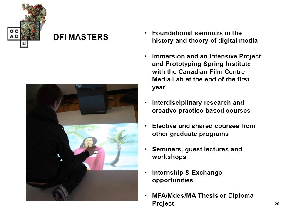 Foundational seminars in the history and theory of digital media