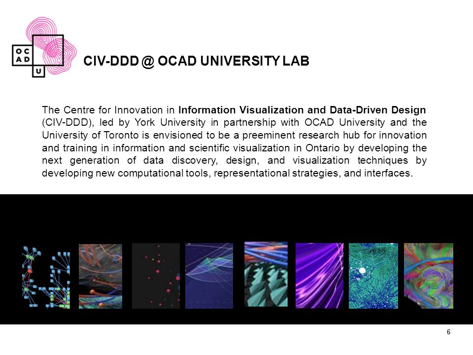CIV-DDD @ OCAD UNIVERSITY LAB